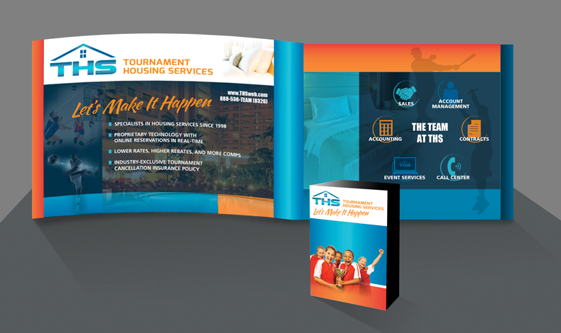 Brochure and Trade Show Booth Design | Imbue Creative