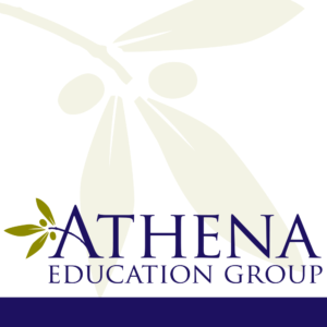 Medical education company logo design.