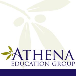 Medical education company logo design.
