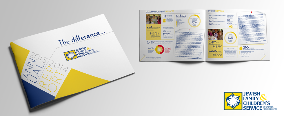 Highly visual and engaging nonprofit annual report design.