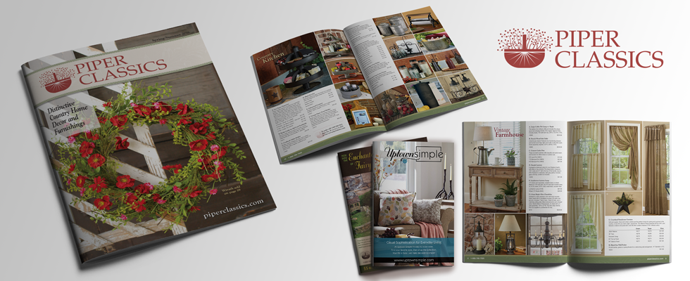 Retail catalog design and layout agency.