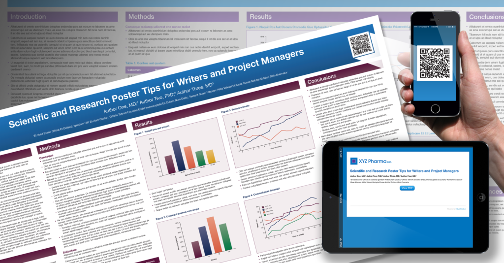 Scientific and Research Poster Tips for Writers and Project Managers