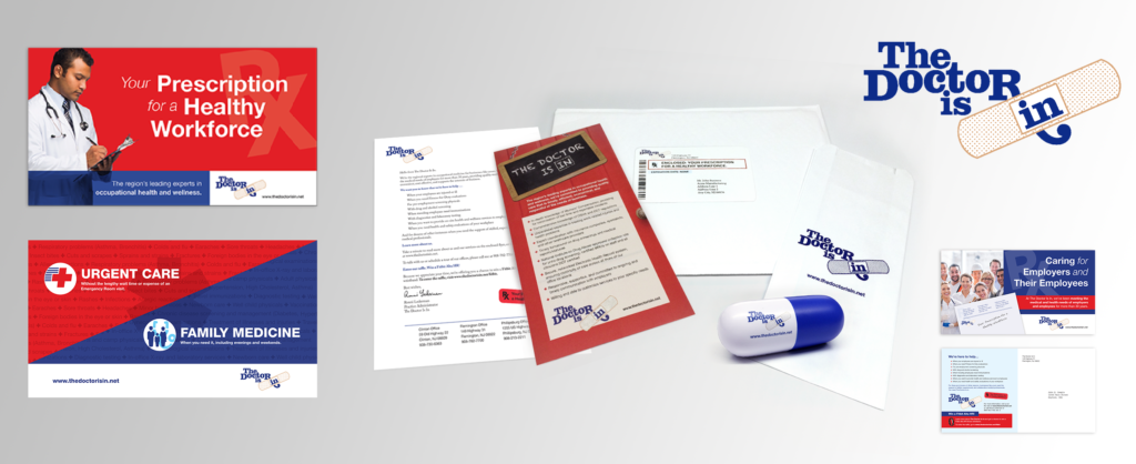 Multi-touchpoint direct mail campaign for local primary care facility