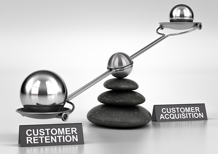 Balancing Acquisition and Retention